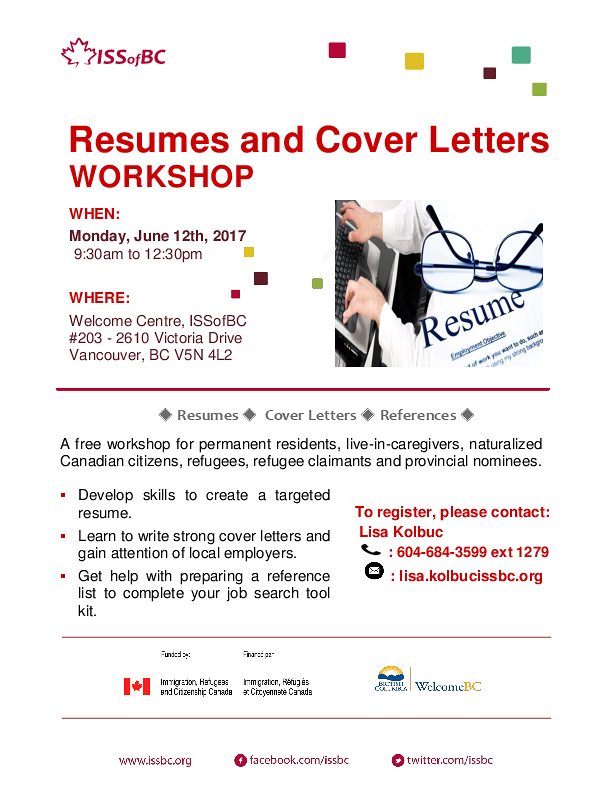 resume vancouver